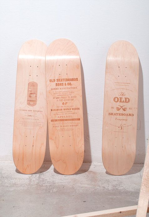 old skateboards @ slanted – like