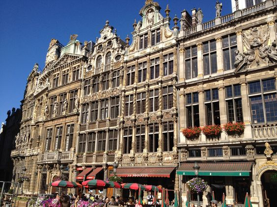 Immer wieder schön! Brüssels Grand'Place.