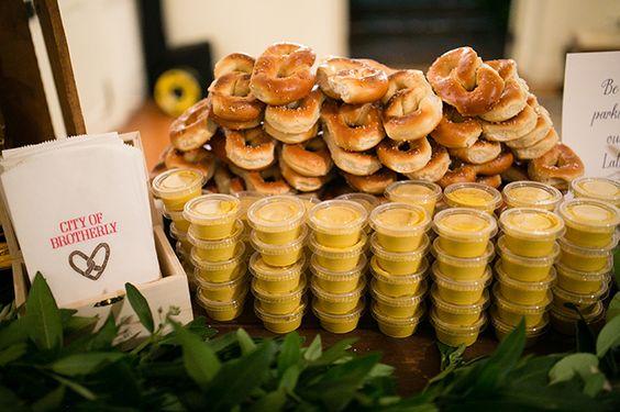 Philadelphia Garden Wedding Wedding Snacks Wedding Midnight Snacks Wedding Late Night Snacks