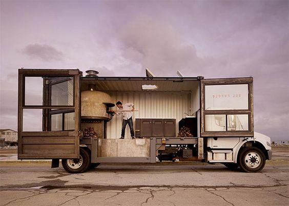 Excelente uso para el camión.