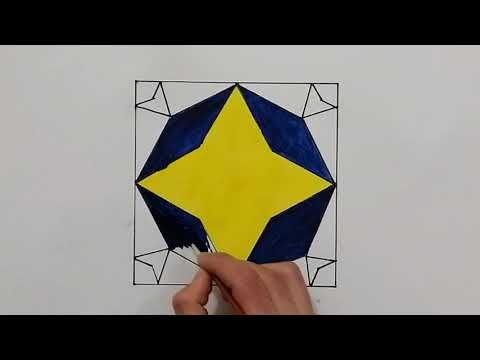 رسم زخرفة سهلة وبسيطة رسم وحدة زخرفية لا نهائية زخارف اسلامية هندسية سهلة Islamic Geometric Youtube In 2021 Umbrella