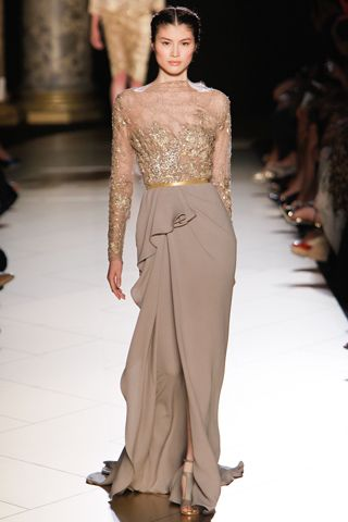 Elie Saab Fall 2012 couture // red carpet prediction: angelina jolie