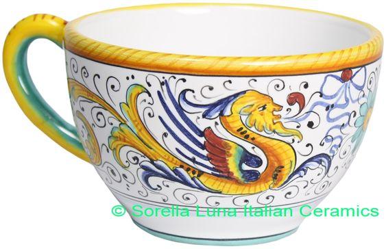 Deruta Italian Ceramic Coffee cup
