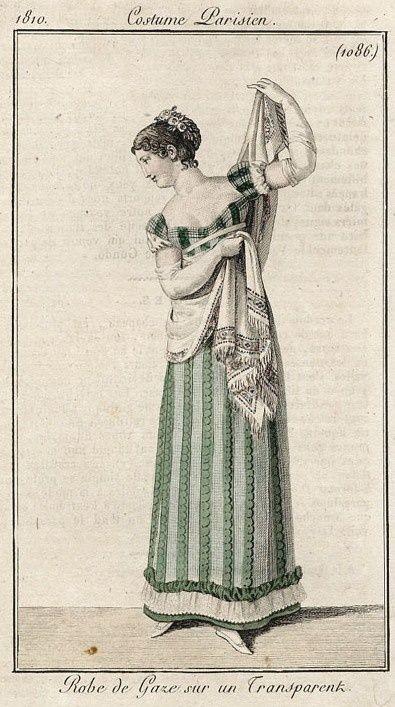 Le Costume Parisien, Journal des Dames et des Modes, 1810
