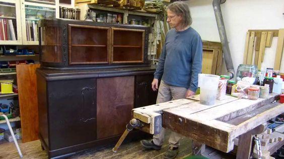 Eine Auffrischung von Farben auf alten Möbeln ist eine echte Alternative zum Abbeizen und Ablaugen und erhält deren Originalität. Wenn Ihnen das Video gefall...