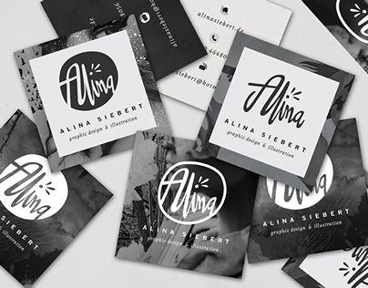 Inspirational Self Promotion work by Alina Siebert.