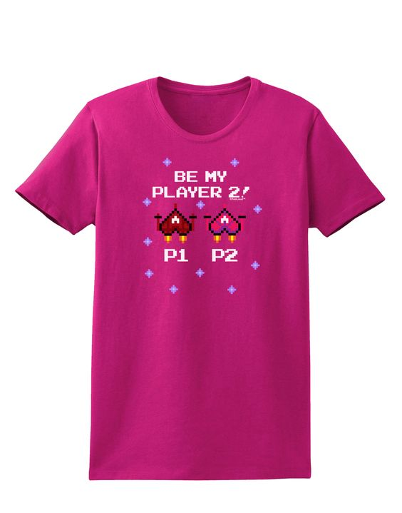 TooLoud Be My Player 2 Womens Dark T-Shirt