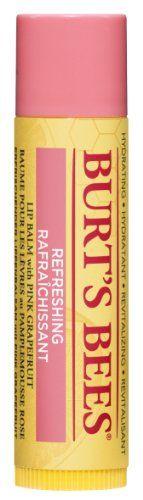 Burt's Bees 100% Natural Lip Balm, Pink Grapefruit (100% natürlicher Lippenbalsam), 4.25g Burt's Bees