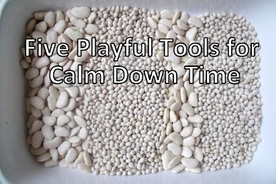 Five Playful Sensory Activities for Calm Down Time   - Re-pinned by @PediaStaff – Please Visit http://ht.ly/63sNt for all our pediatric therapy pins