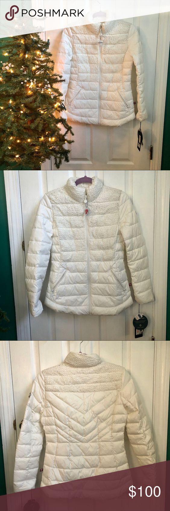 Bernardo Puffer Jacket Xs White Primaloft Puffer Jackets Clothes Design Jackets [ 1692 x 564 Pixel ]