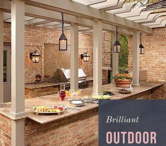 Unbelievable 49 Brilliant Outdoor Kitchen Ideas For You Outdoor Kitchen Design Outdoor Kitchen Bars Backyard