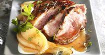 Recette de Rôti de chevreuil aux champignons - Une recette de Cuisine AZ.