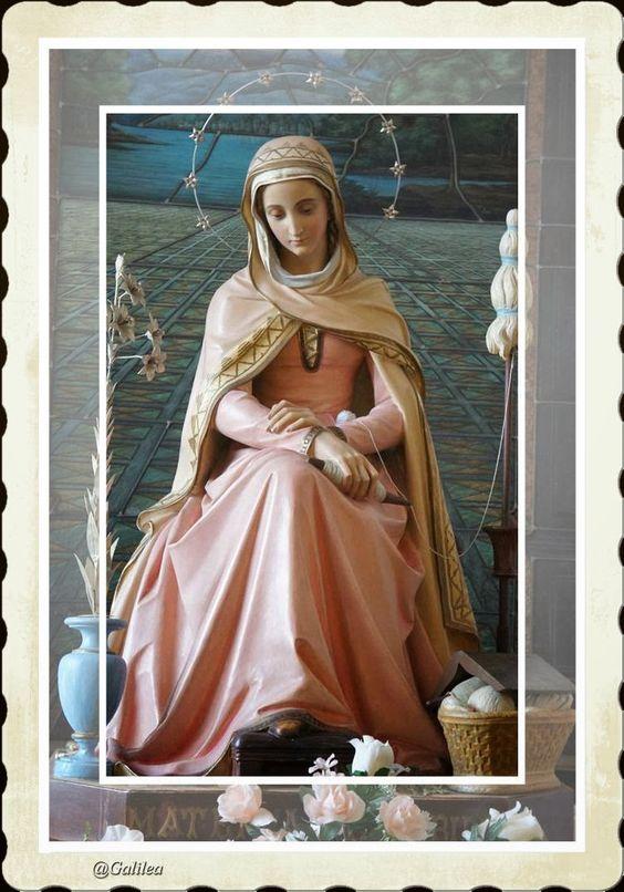 Imágenes religiosas de Galilea: Virgen María 2