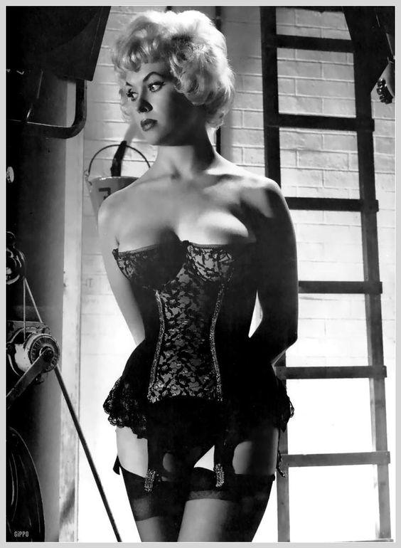 Vera Day in a corset