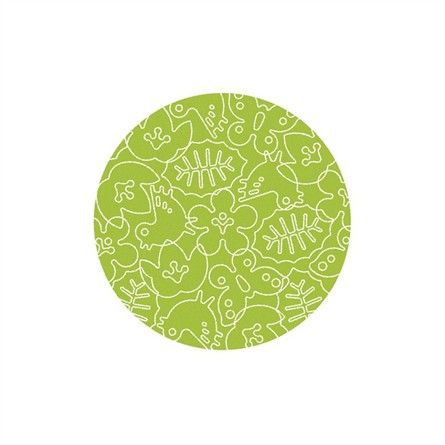@rosenberryrooms is offering $20 OFF your purchase! Share the news and save!  Seasons Round Rug in White and Lotus Green #rosenberryrooms
