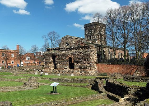 Jewry Wall ruins, Leicester - Wikipedia