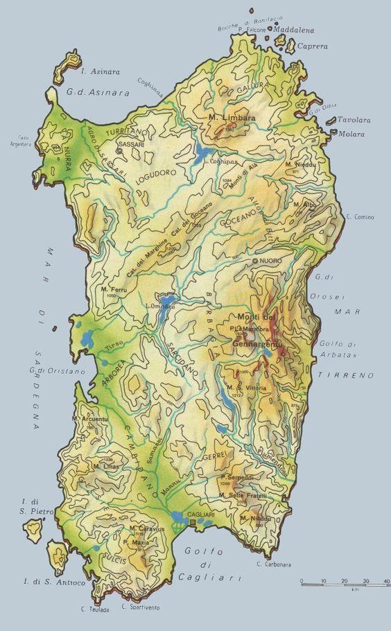 Arbatax Cartina Geografica.Clicca Per Ingrandire La Cartina Sardegna Sardegna Italia Geografia