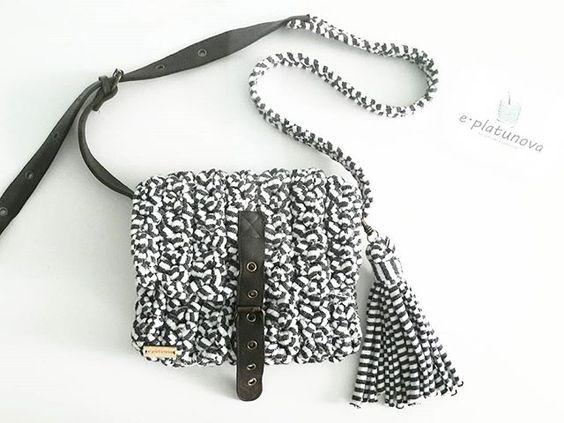 сумочка из т-пряжи