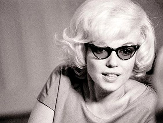 Cateye glassses were another fad of the fifties. For a long time, they were the pick of most girls who wore glasses.