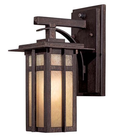 Minka Lavery 71191PL Delancy Energy Smart 1 Light Outdoor Wall Light