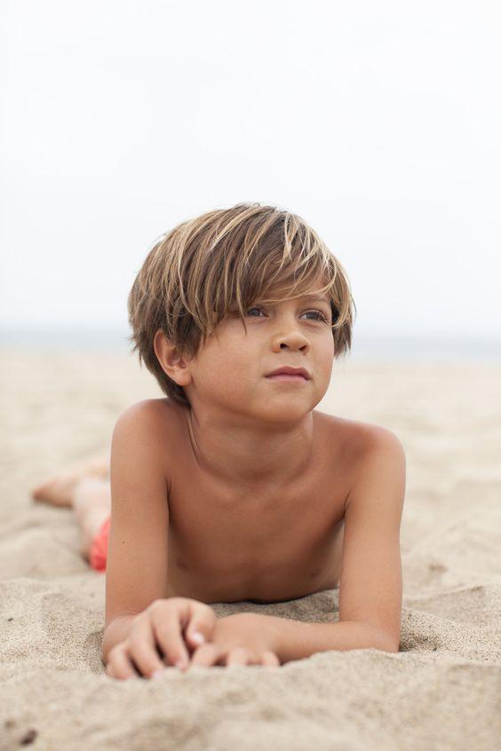 fotos de crianças na praia tumblr radical