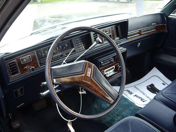 Oldsmobile cutlass supreme, Oldsmobile cutlass and First ...1980 Oldsmobile Delta 88 Interior Photos