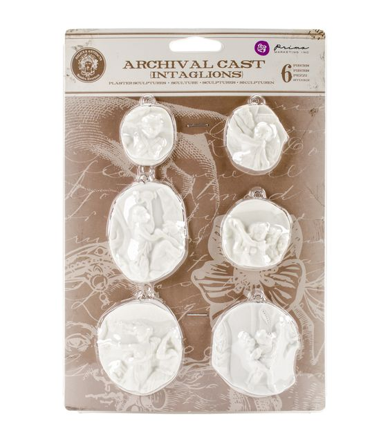Prima Marketing Relic & Artifacts Archival Cast Intaglios Embellishments