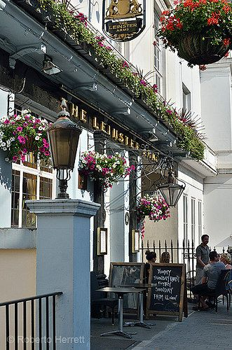The Leinster Arms Pub in Bayswater, London