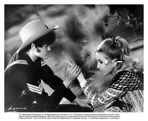 Micky Dolenz and Terri Garr in Head