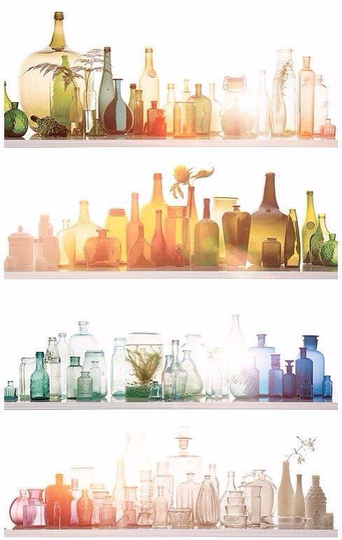 light, bottle
