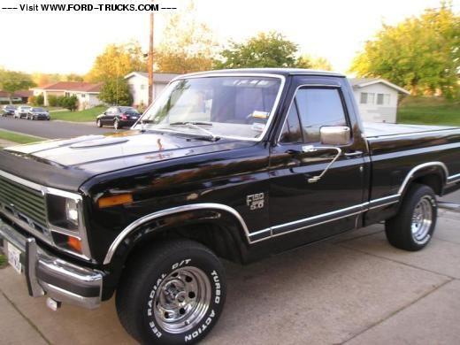 1986 Ford F150 4x2 Black 86 F 150 Xlt Lariat Classic Ford Trucks Ford F150 Ford F150 Xlt