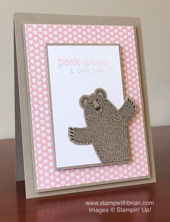 Bear Hugs, Suite Sayings, Words of Truth, Stampin' Up!, Brian King, PPA281: