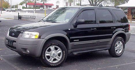 Ford SUV Escapes