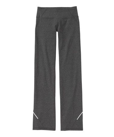 Look what I found on #zulily! Black Heather Power Kick Pant - Women #zulilyfinds