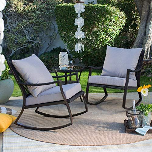 Small Outdoor Patio Rocking Chairs Amazing Design