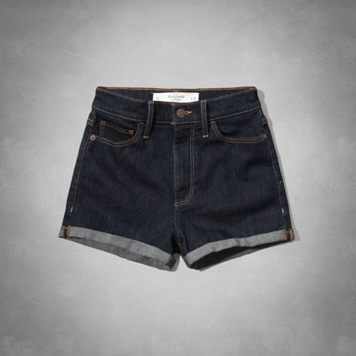 Natural Waist Short-Shorts - Abercrombie & Fitch - $29