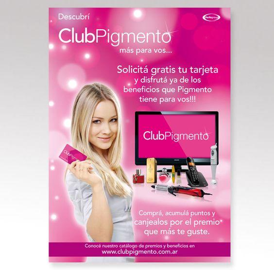 Club Pigmento / Piezas Promocionales / Print