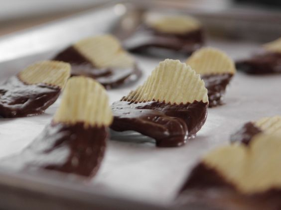 Chocolate Covered Potato Chips Recipe Potato Chips