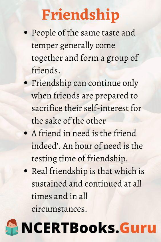 Essayonfriendandfriendship Friendandfriendshipessay Ncertbooksguru Real Friendship True Essay On Friend