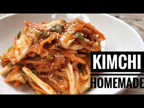Resep Kimchi Termudah Dengan Bahan Lokal Acar Ala Korea Resep Makanan Korea Resep Makanan Makanan
