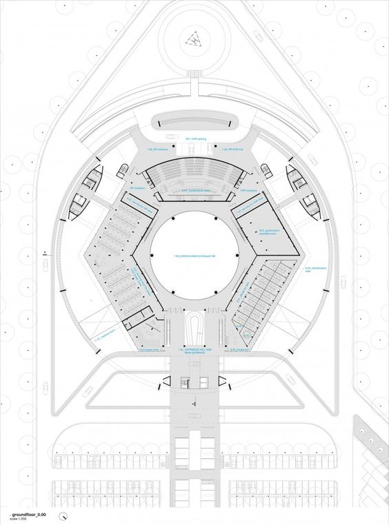 Conference Center Reconstruction Second Prize Winning Proposal / PPMS Arquitetos Associados