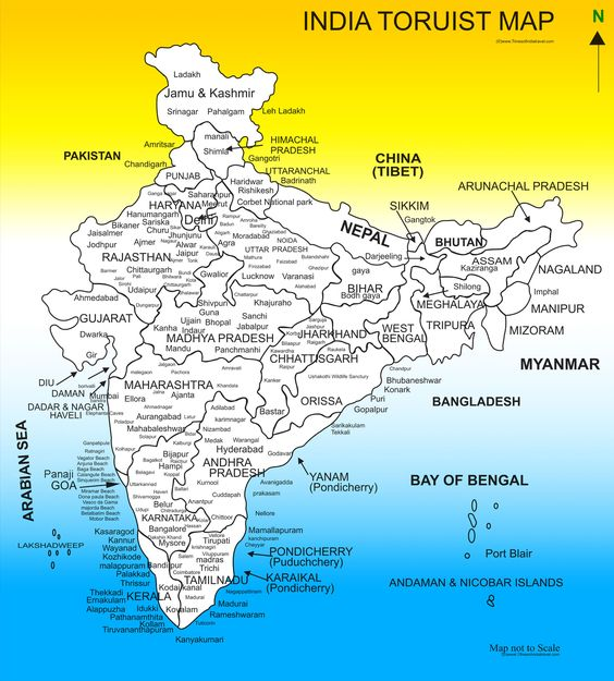 India tourist map Karissa Scott Scott Holmes this may come in – Tourist Attractions Map In India
