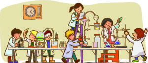 Des expériences de sciences en primaire