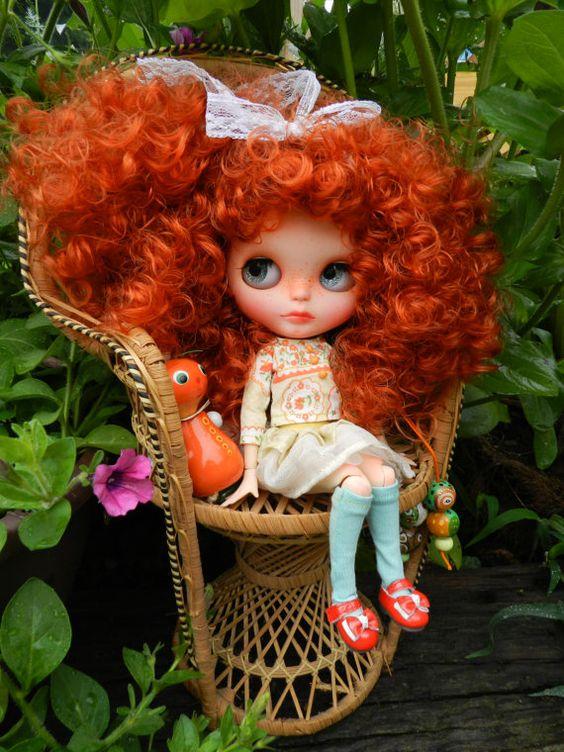 Muñeca Blythe de OOAK Alice única muñeca Blythe por malinkaartz