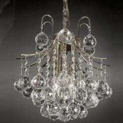 Austin Allen & Company Chloe Collection 4-light Winter Gold Mini Chandelier | Overstock.com Shopping - The Best Deals on Chandeliers & Pendants