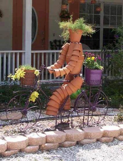 cute yard art!