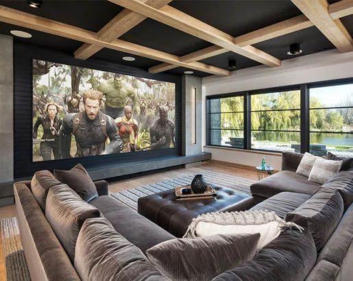 31 Home Theater Ideas Sebring Design Build Design Trends Livingroomdecor Home Cinema Room Home Theater Rooms Home Theater Decor