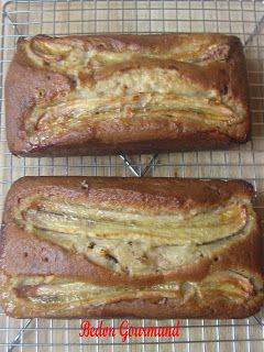 Pain aux bananes et chocolat / Bedon Gourmand