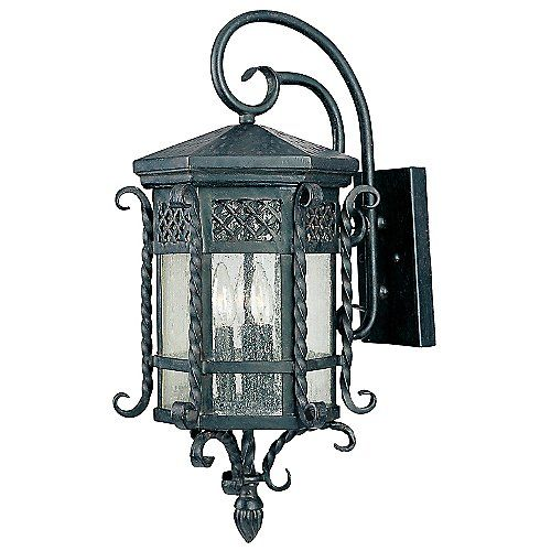 Scottsdale Outdoor Hanging Wall Sconce Black Outdoor Wall Lights