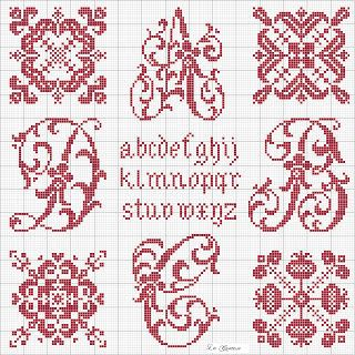 Free Cross Stitch patterns (in Italian)